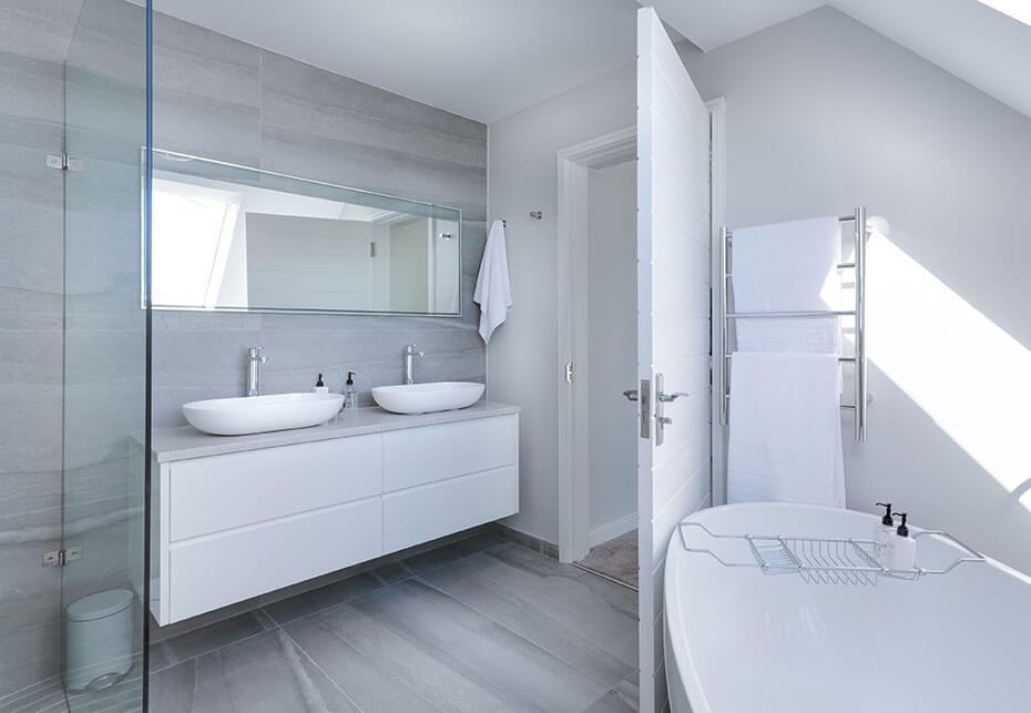 brak osadu wapiennego w łazience